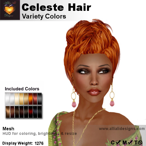 A&A Celeste Hair Variety Colors-pic