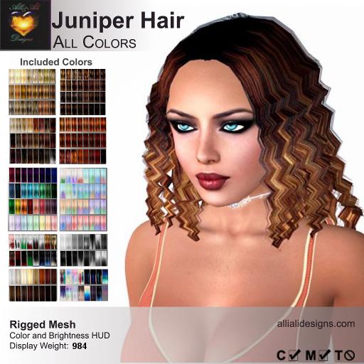 A&A Juniper Hair All Colors-pic