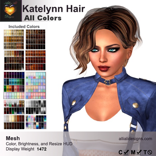 A&A Katelynn Hair All Colors-pic