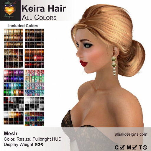 A&A Keira Hair All Colors-pic