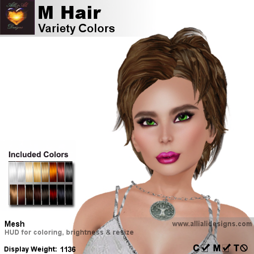 A&A M Hair Variety Colors-pic