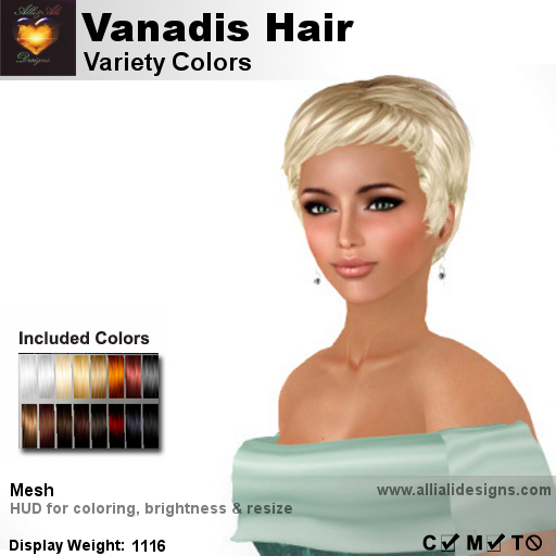 A&A Vanadis Hair Variety Colors-pic