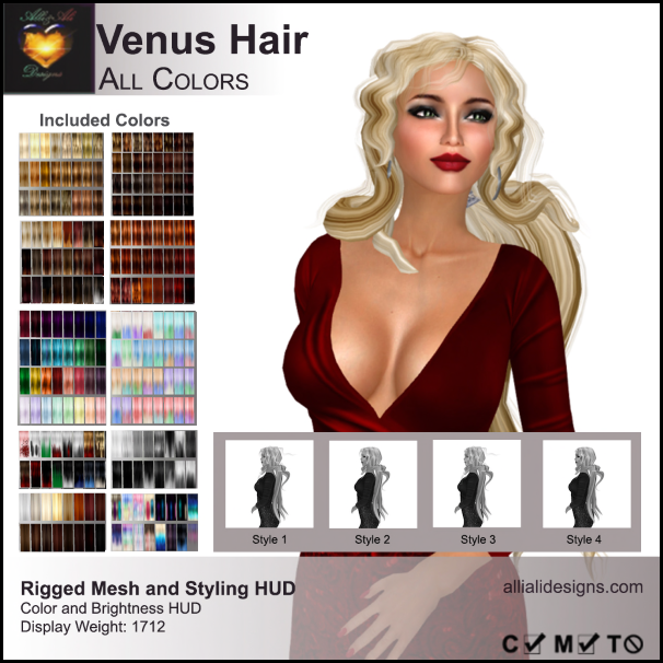 A&A Venus Hair All Colors-pic