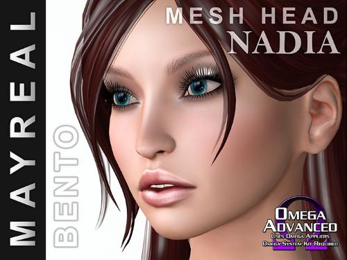 Mayreal Nadia Mesh Head