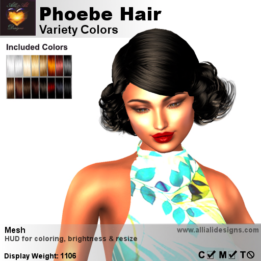 A&A Phoebe Hair Variety Colors-pic