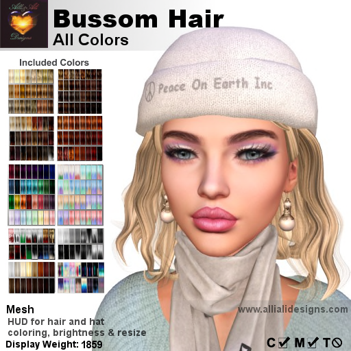 A&A Bussom Hair All Colors-pic