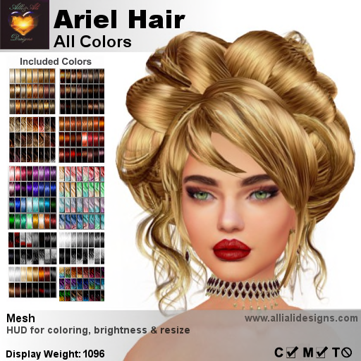 A&A Ariel Hair All Colors-pic
