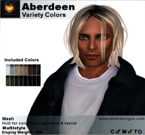 A&A Aberdeen Hair Variety Colors-pic