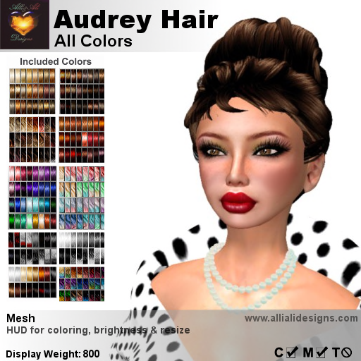 A&A Audrey Hair All Colors-pic