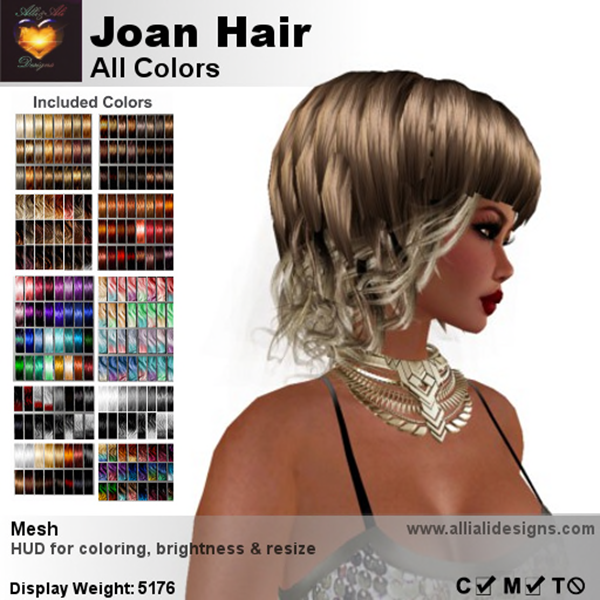 A&A Joan Hair All Colors-pic