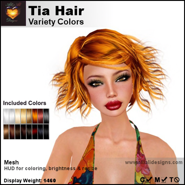 A&A Tia Hair Variety Colors-pic