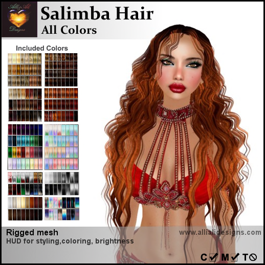 A&A Salimba Hair All Colors-pic