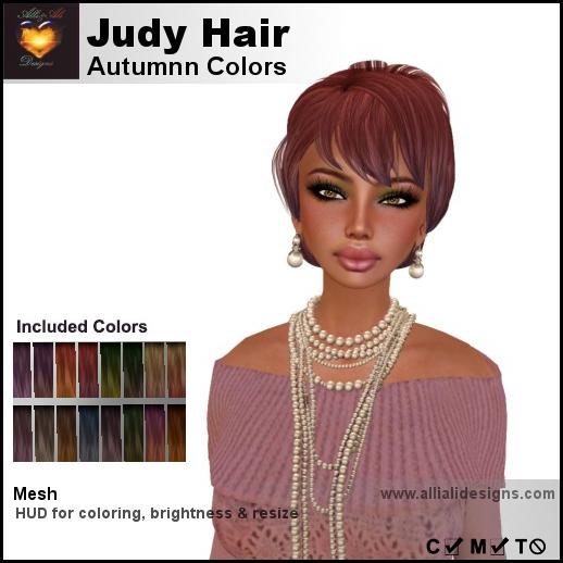 A&A Judy Hair Autumn Colors-pic