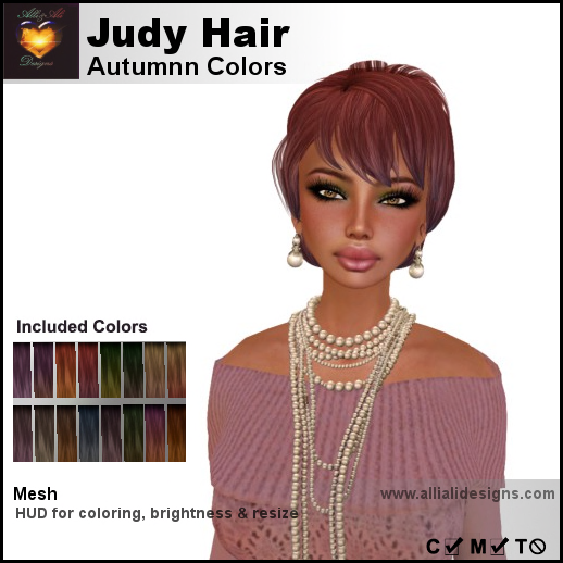 A&A Judy Hair Autumn Colors-pic