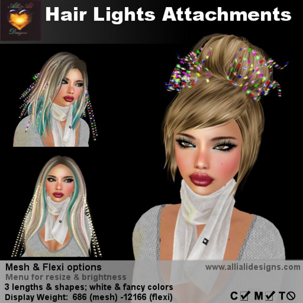 A&A Hair Lights Attachments-pic