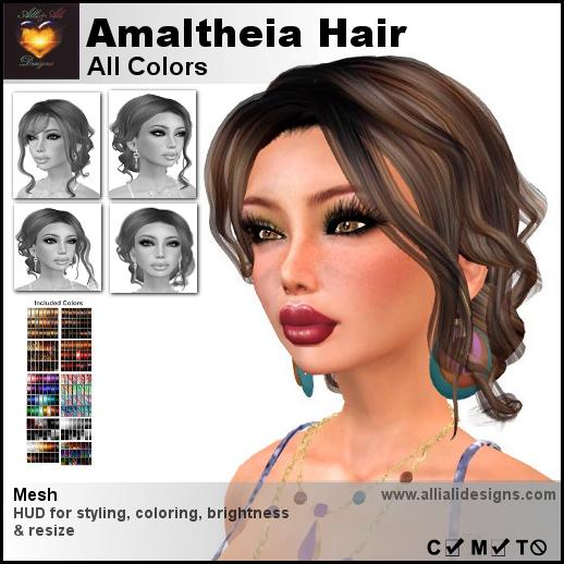 A&A Amaltheia Hair All Colors pic
